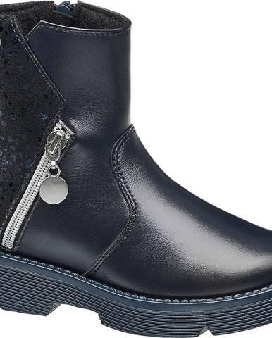 Tmavomodrá zimná obuv Bartek