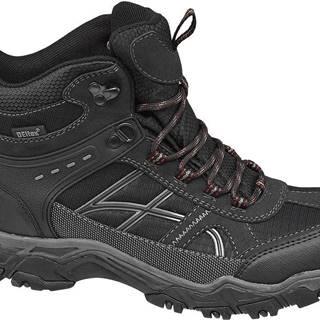 Landrover - Čierna členková outdoorová obuv Landrover s TEX membránou
