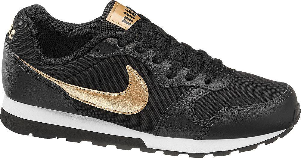 Nike NIKE - Čierne tenisky Nike Md Runner 2 Gs