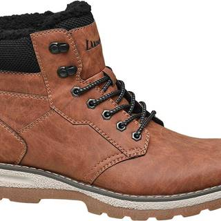Landrover - Hnedá členková obuv Landrover
