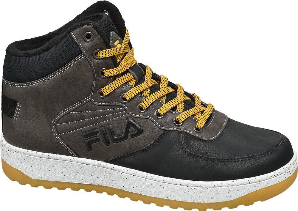 Fila Fila - Sivo-čierne členkové tenisky Fila