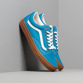 Vans Old Skool (Gum) Mediterranean Blue/ True White