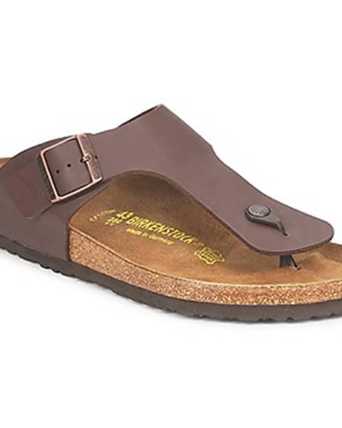 Hnedé topánky Birkenstock