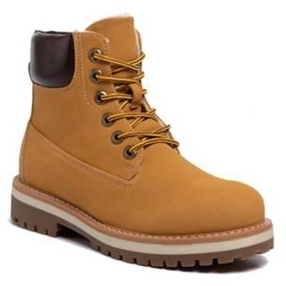 Šnurovacia obuv DeeZee WSN2911-01 Ekologická koža/-Ekologická koža