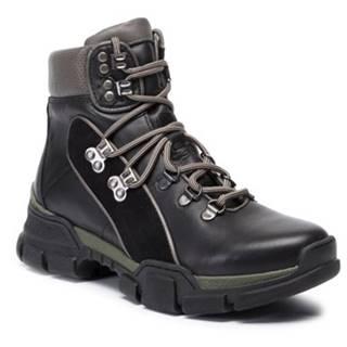 Šnurovacia obuv Lasocki RST-KUGA-01 Prírodná koža(useň) - Zamš