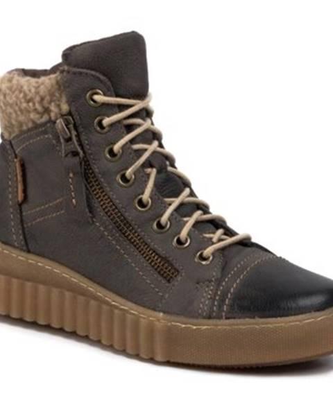 Khaki topánky Lasocki