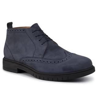 Šnurovacia obuv Gino Rossi MI08-C535-537-07 Prírodná koža(useň) - Nubuk