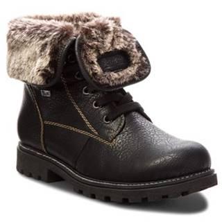 Šnurovacia obuv Rieker Z1418-00 Imitácia kože/-Imitácia kože