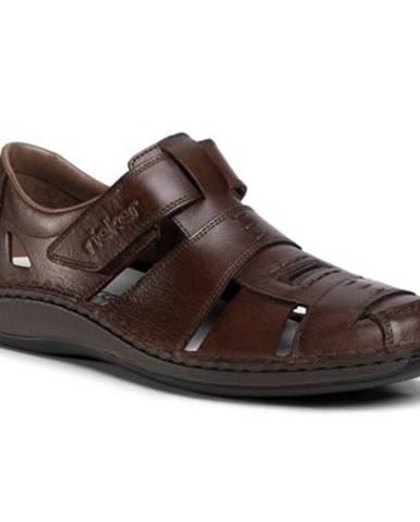 Hnedé sandále Rieker