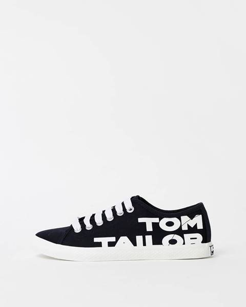 Tmavomodré tenisky Tom Tailor