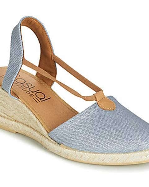 Modré sandále Casual Attitude