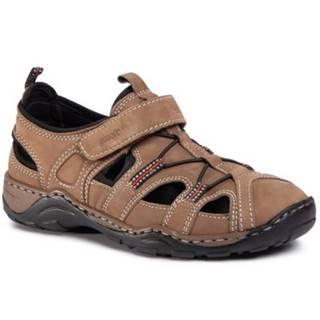 Sandále GO SOFT Y61-Y61-03 Prírodná koža(useň) - Nubuk