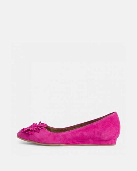 Ružové balerínky Tamaris