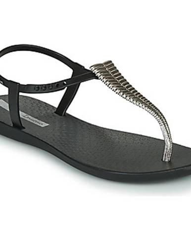 Čierne sandále Ipanema
