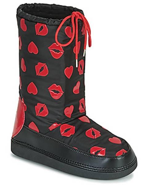 Čierne topánky Love Moschino