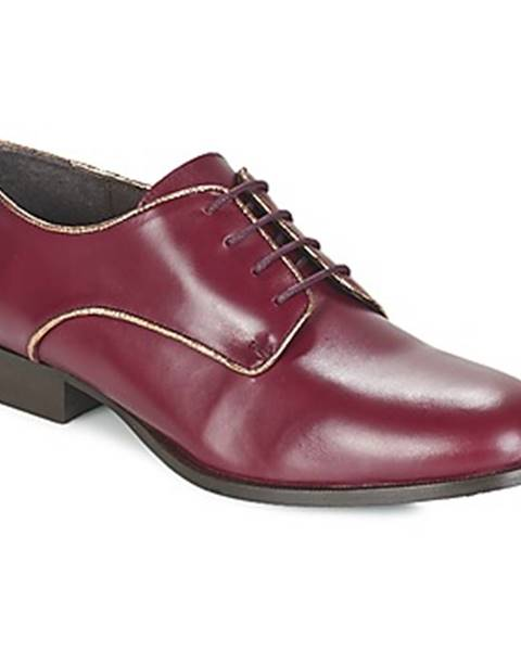 Bordové topánky Betty London