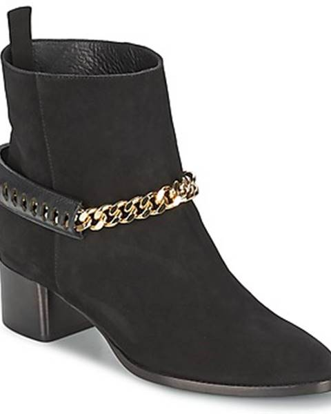 Čierne topánky Roberto Cavalli