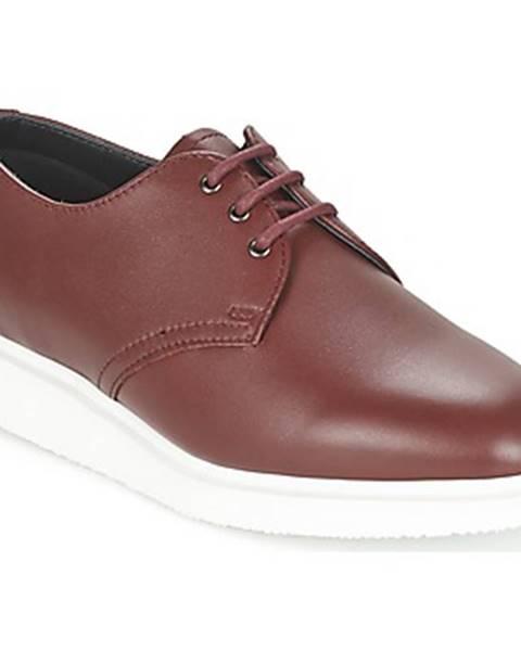 Červené topánky Dr Martens