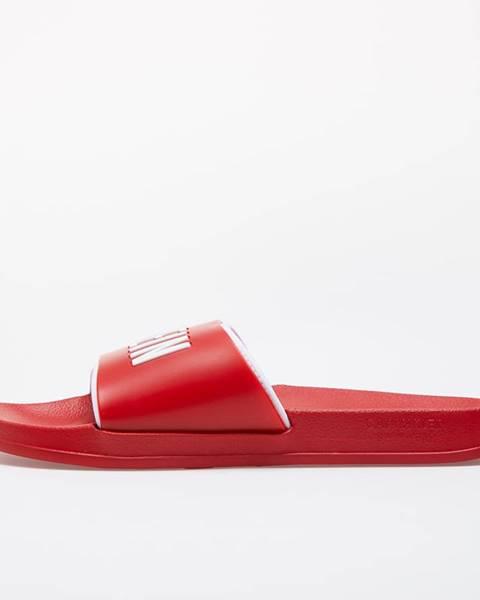 Červené tenisky Calvin Klein