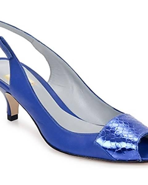 Modré sandále Fred Marzo