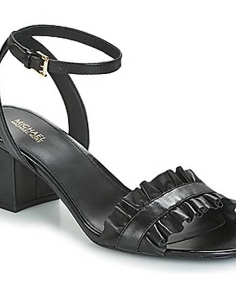 Čierne sandále MICHAEL Michael Kors