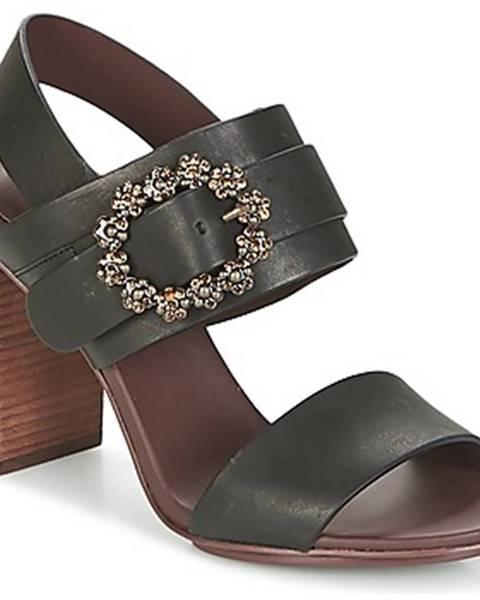 Čierne sandále See by Chloé