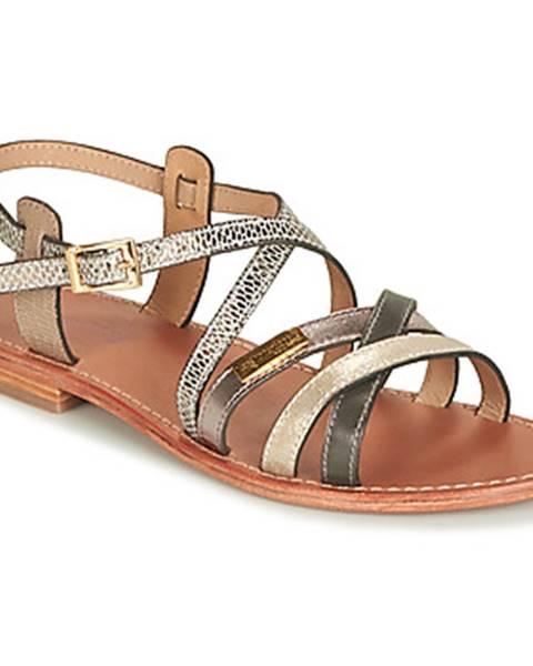 Béžové sandále Les Tropéziennes par M Belarbi