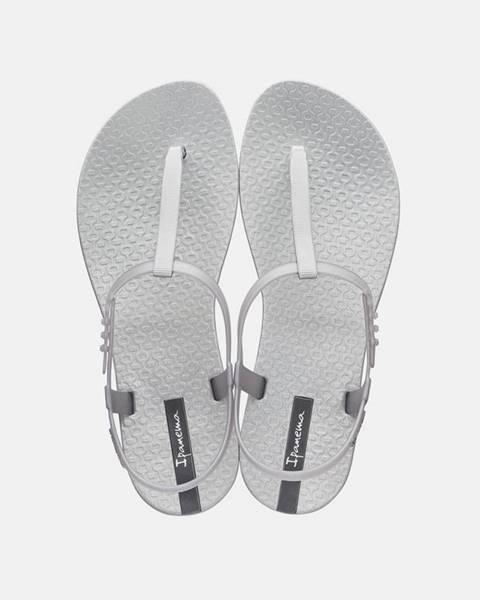 Strieborné topánky Ipanema