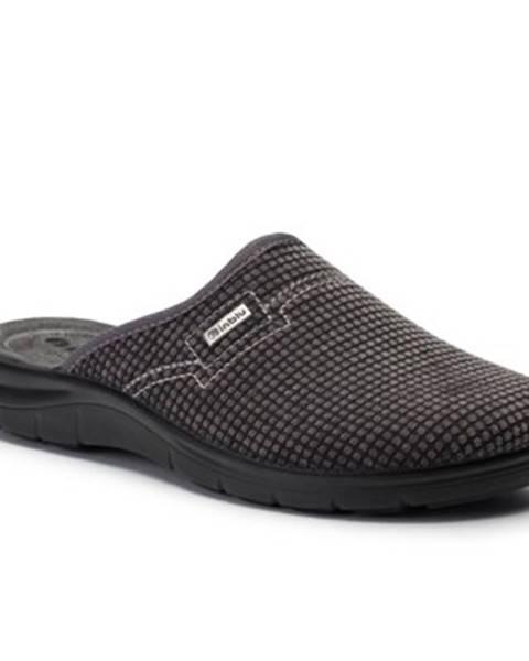 Šedé papuče INBLU