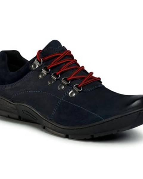 Tmavomodré topánky Lasocki for men