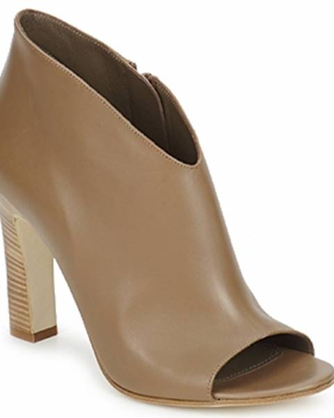 Hnedé topánky Jil Sander