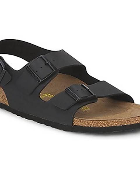Čierne sandále Birkenstock