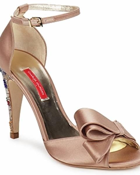 Béžové sandále Charles Jourdan