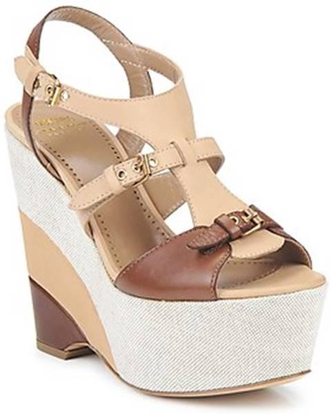 Béžové sandále Moschino Cheap   CHIC