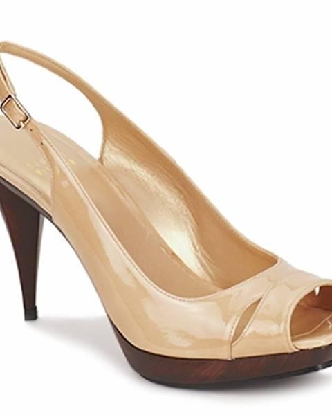 Béžové sandále Stuart Weitzman