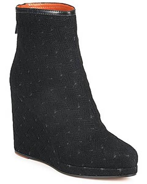 Čierne topánky Missoni