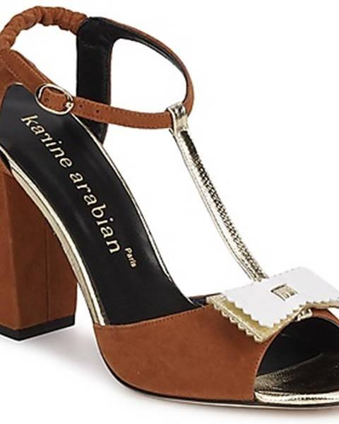 Hnedé sandále Karine Arabian
