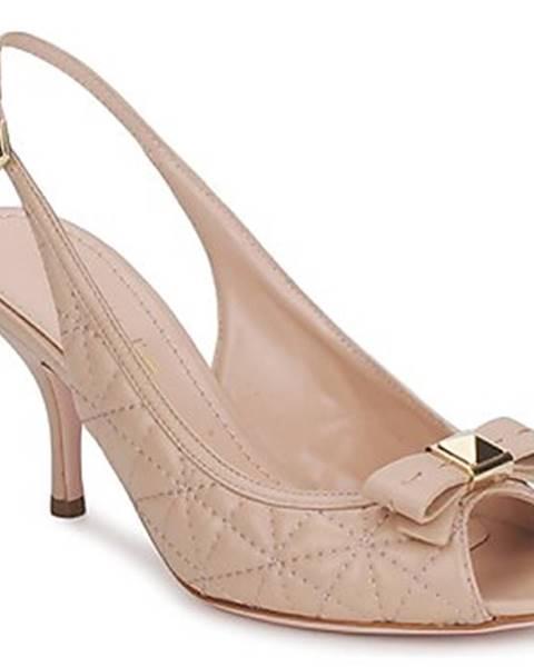 Béžové sandále Sebastian