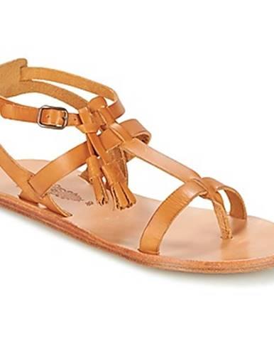 Hnedé sandále n.d.c.