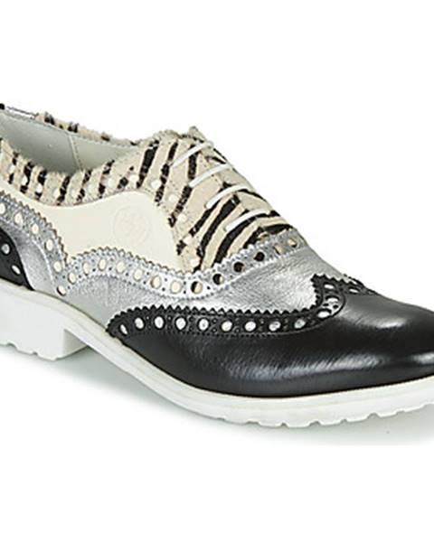 Čierne topánky Melvin   Hamilton