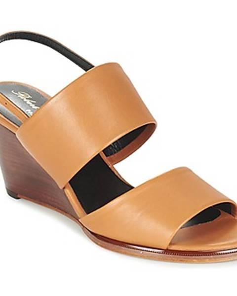 Hnedé sandále Robert Clergerie