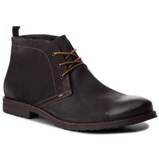 Šnurovacia obuv Lasocki for men MI08-C307-250-01BIG Prírodná koža(useň) - Nubuk