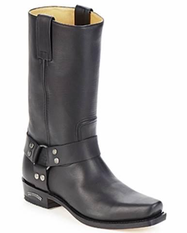 Čierne čižmy Sendra boots