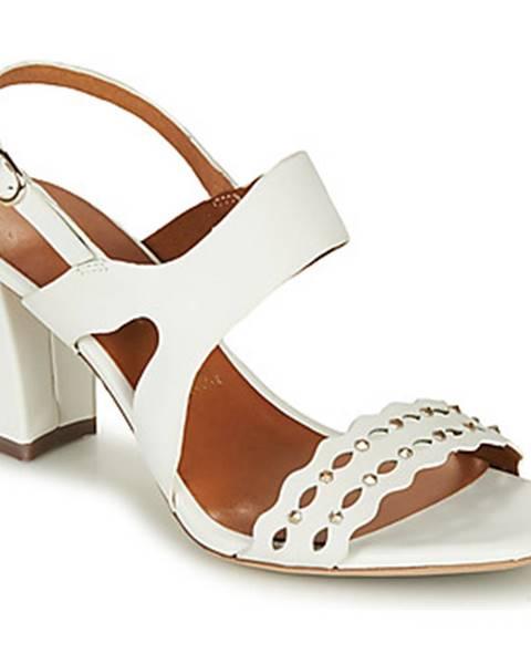 Biele sandále Tamaris