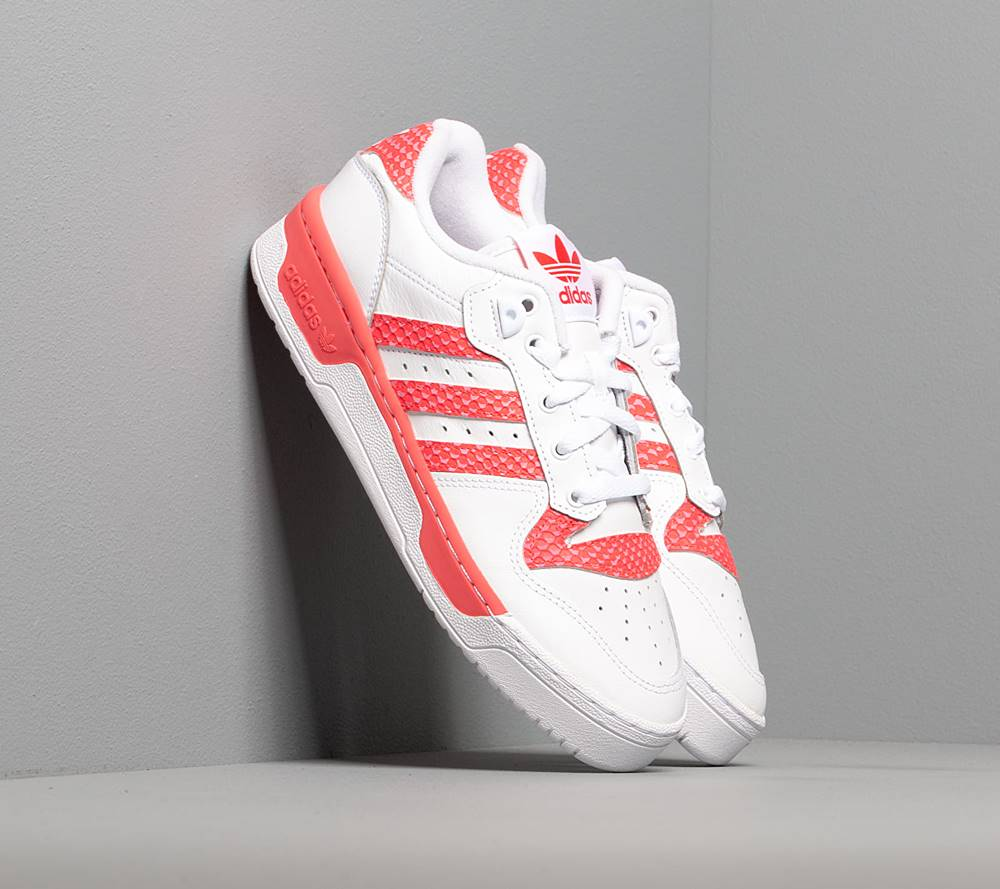 adidas Originals adidas Rivalry Low W Ftw White/ Ftw White/ Shock Red