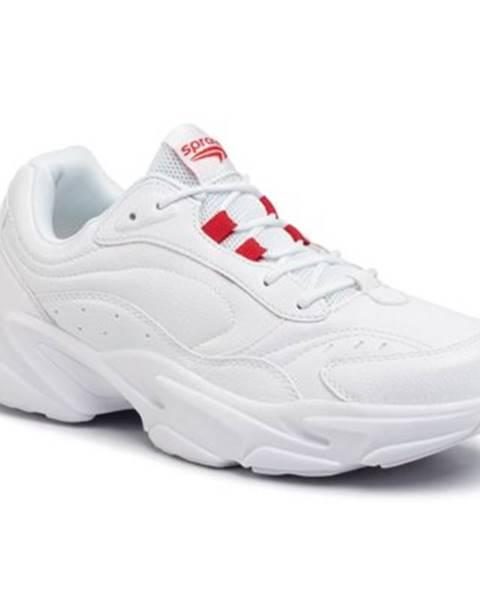 Biele topánky Sprandi