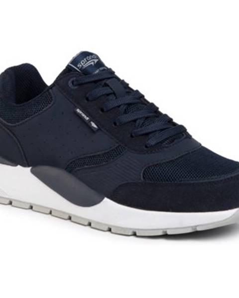 Tmavomodré topánky Sprandi