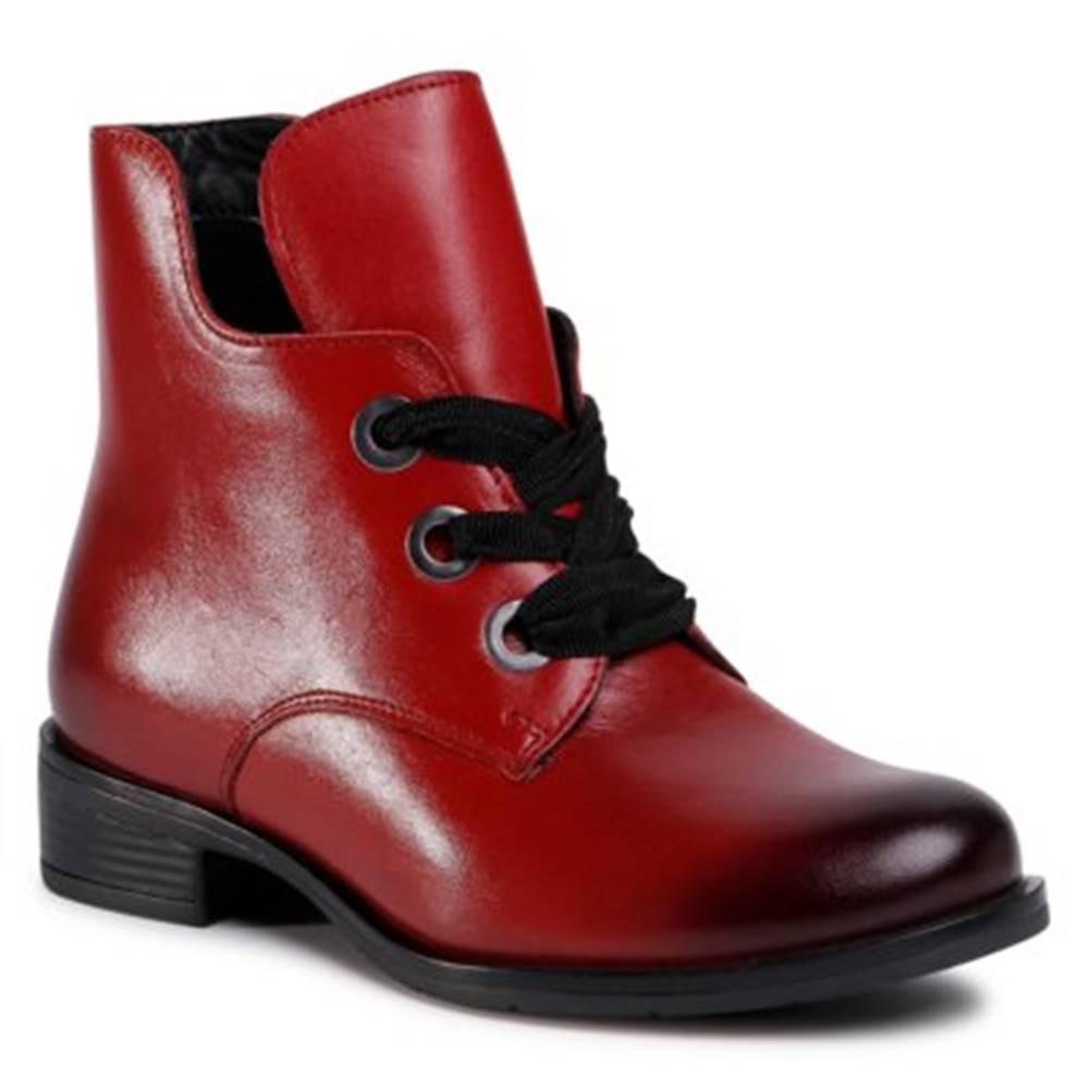 Lasocki Šnurovacia obuv Lasocki WI23-CIDA-01 koža(useň) lícová