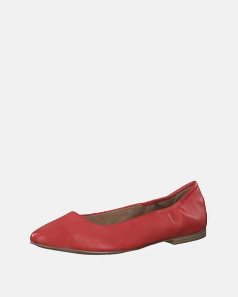 Červené balerínky S.Oliver