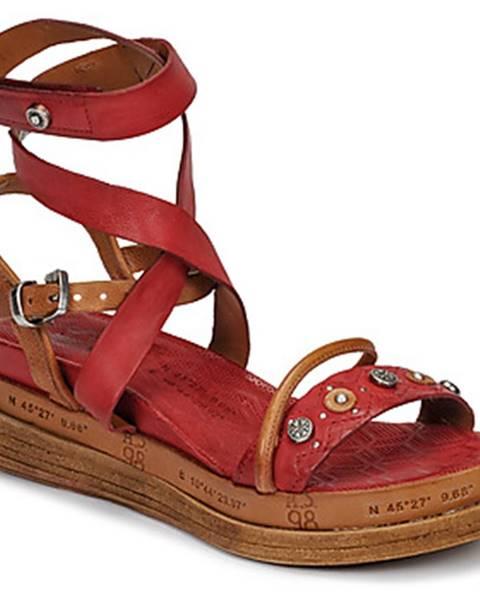 Červené sandále Airstep / A.S.98